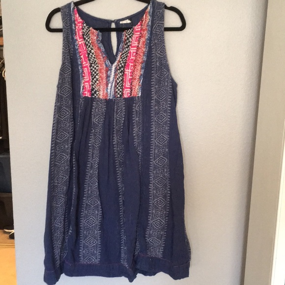 Anthropologie Dresses & Skirts - Anthropology Akemi + Kin plus embroider tank dress